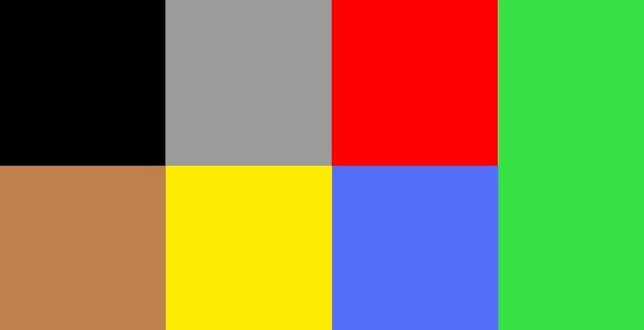 Психологический тест: характер и цвет