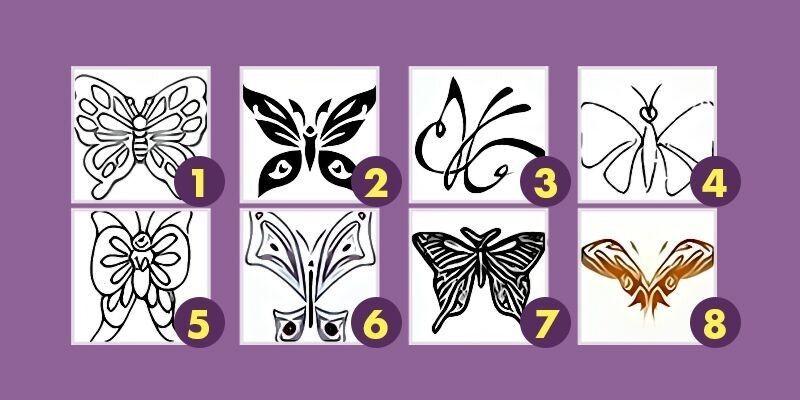 Тайны твоего подсознания: выбери бабочку и узнай о себе больше