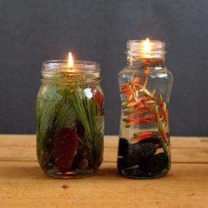 Свечи на Мабон