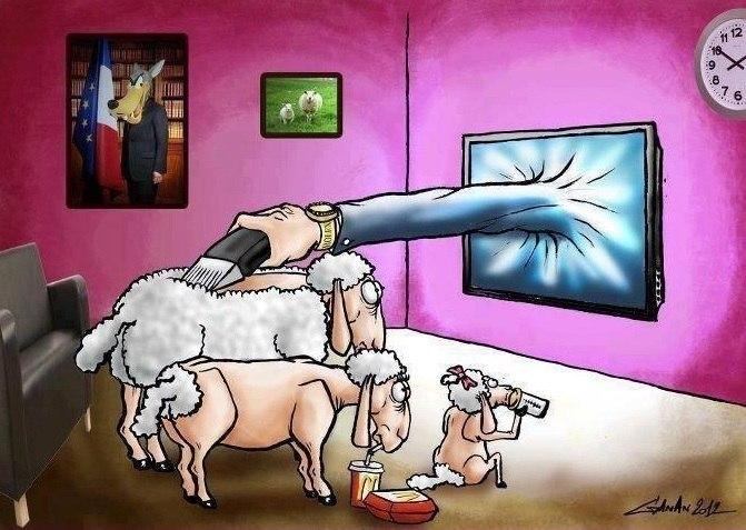Негативное влияние телевизора на человека
