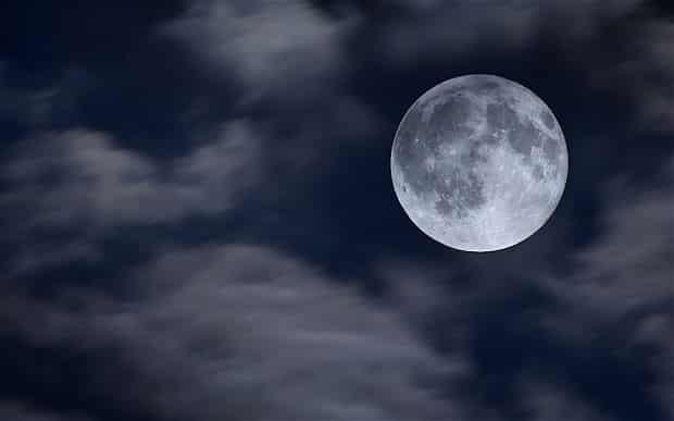 Полнолуние, Голубая Луна в марте 2018 года
