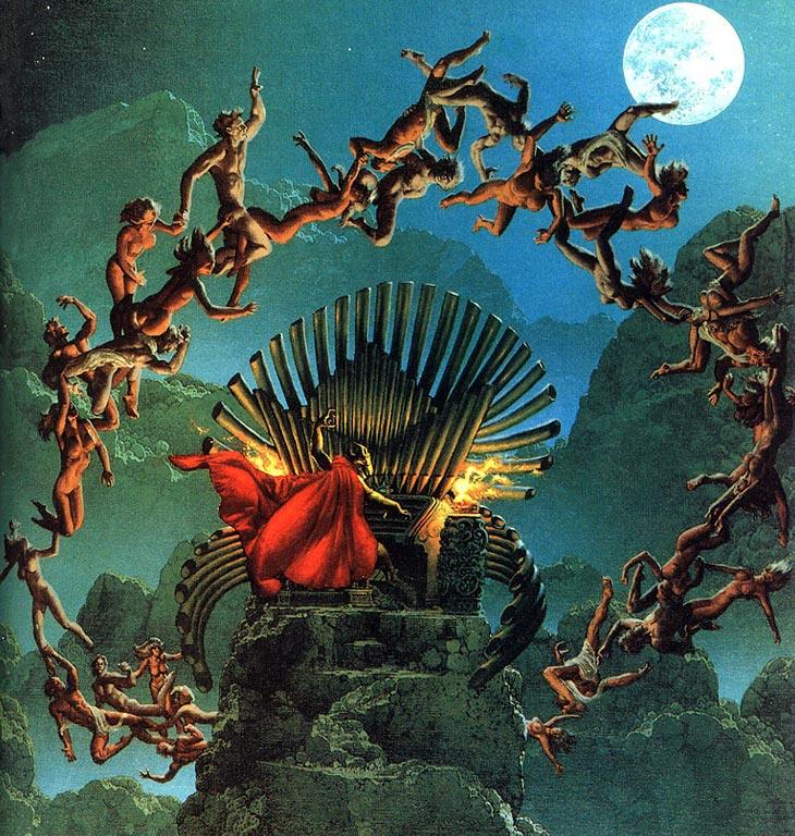 1 МАЯ - шабаш ведьм, день святой Вальпургии или праздник славянской богини Живы?