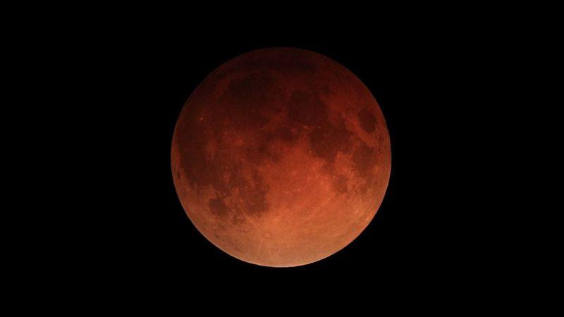 Лунное затмение 27 июля 2018 года - Кровавая луна