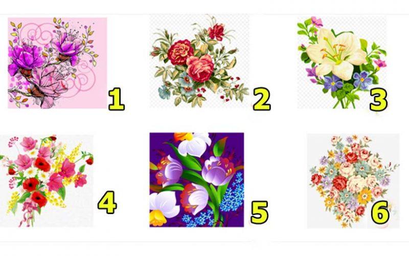 Выбранные цветы откроют ваши самые яркие внутренние черты
