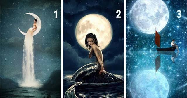 Выберите луну и узнайте, что ваше подсознание говорит о вас!