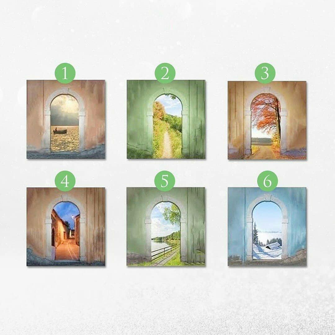 Тест: Выберите ворота через которые хотите пройти?