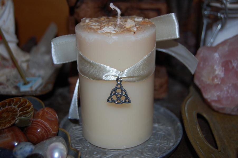 Ритуал со свечам на Имболк
