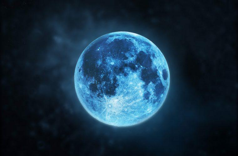 Голубая луна 31 марта 2018