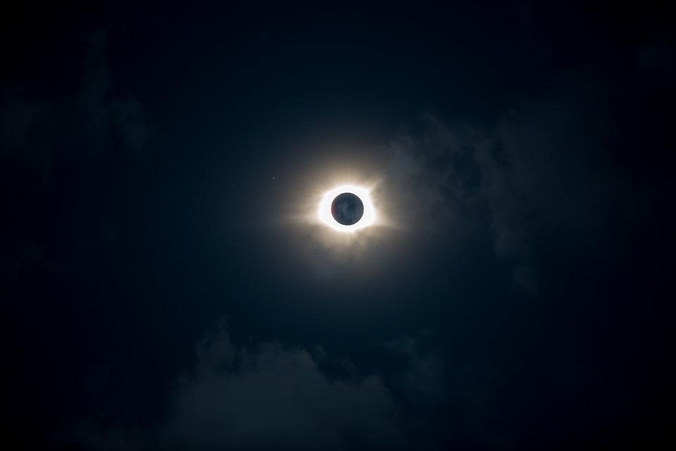 О влиянии солнечных и лунных затмений
