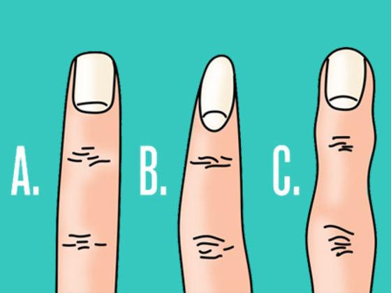 Простой тест: узнайте о характере человека по форме пальцев!