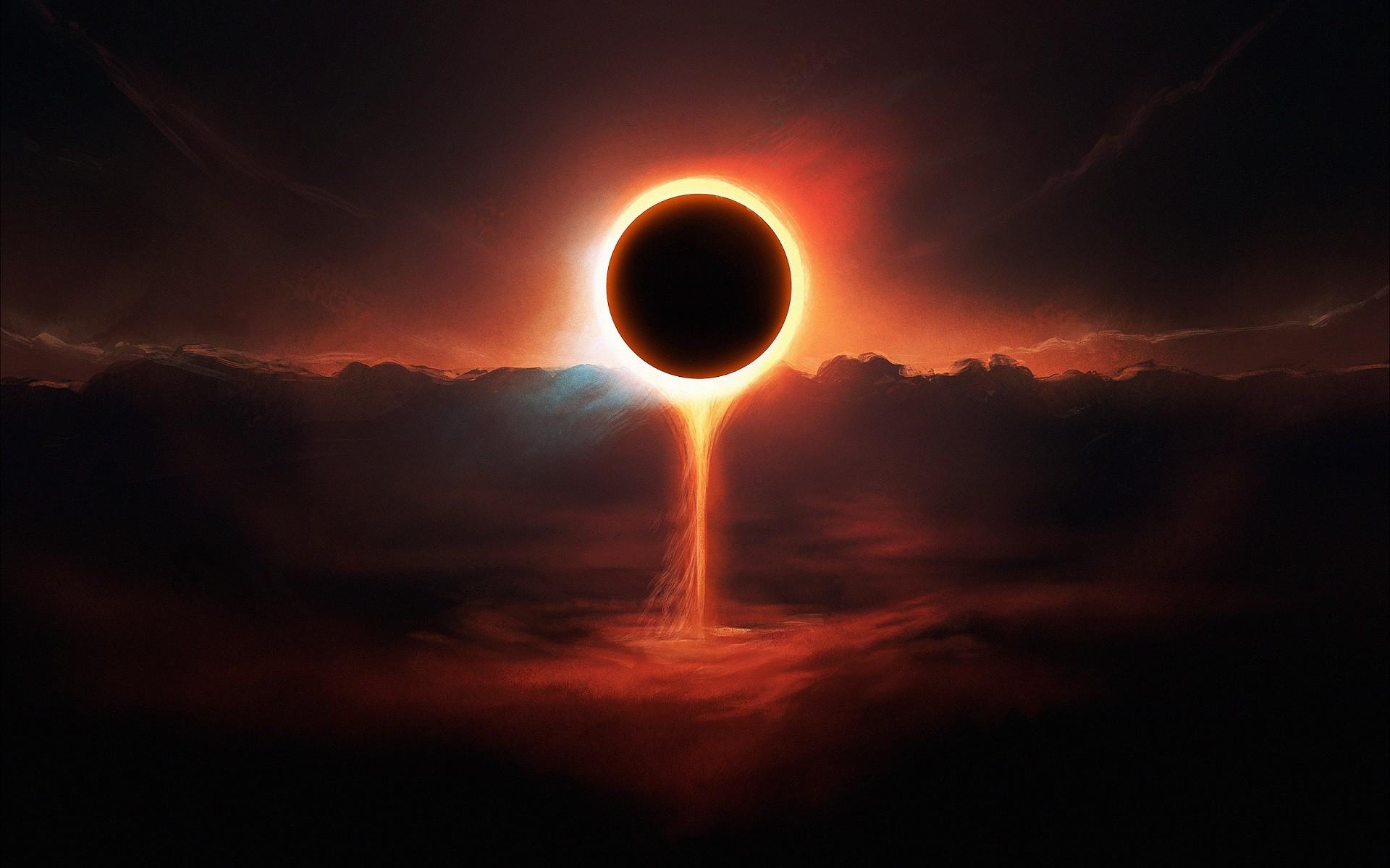 О солнечном затмении