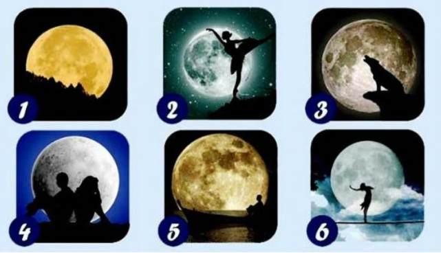 Психологический тест: выбери луну и прочитай послание свыше