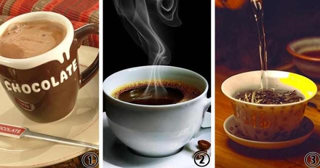 Выберите свой любимый напиток и мы расскажем об уровне вашего внимания и любознательности!