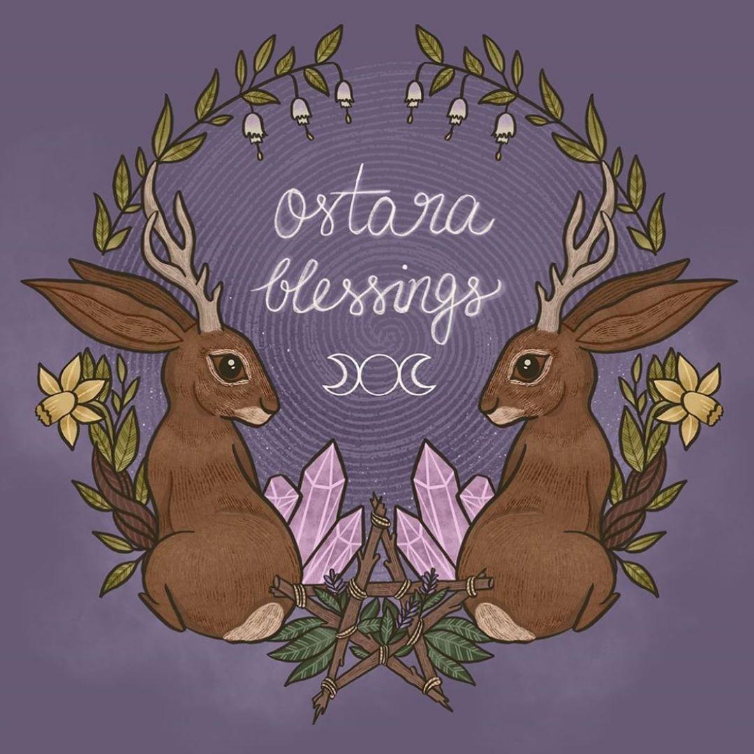 Вся правда про ВЕСЕННЕЕ РАВНОДЕНСТВИЕ: яйца, зайцы и древняя Богиня