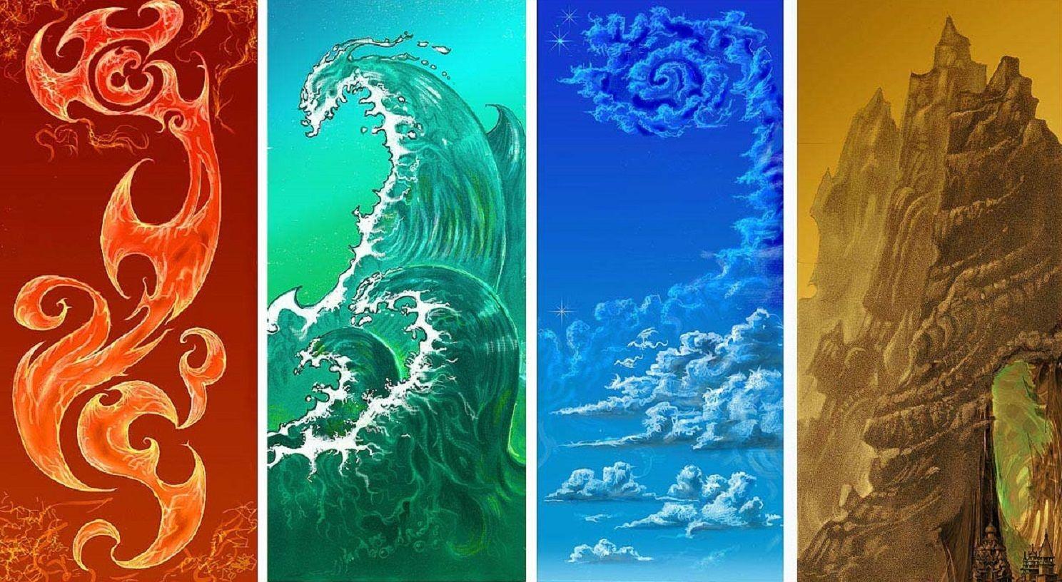 Знаки Зодиака и элементы стихий
