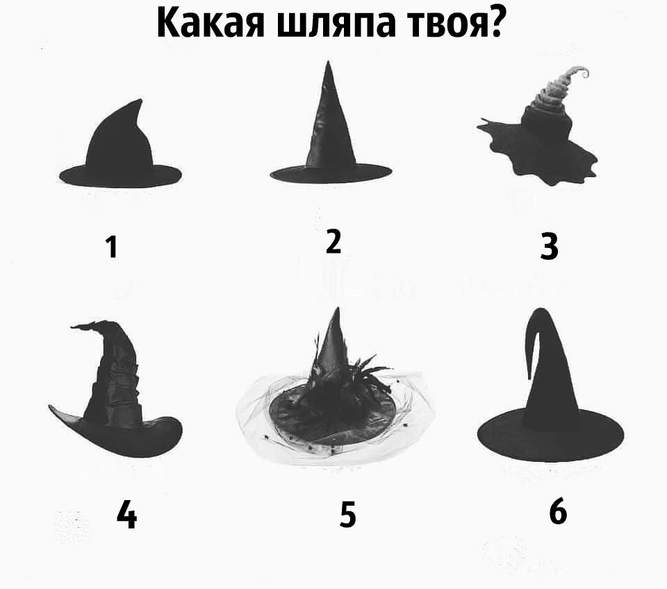Тест:  Какая шляпа твоя?!