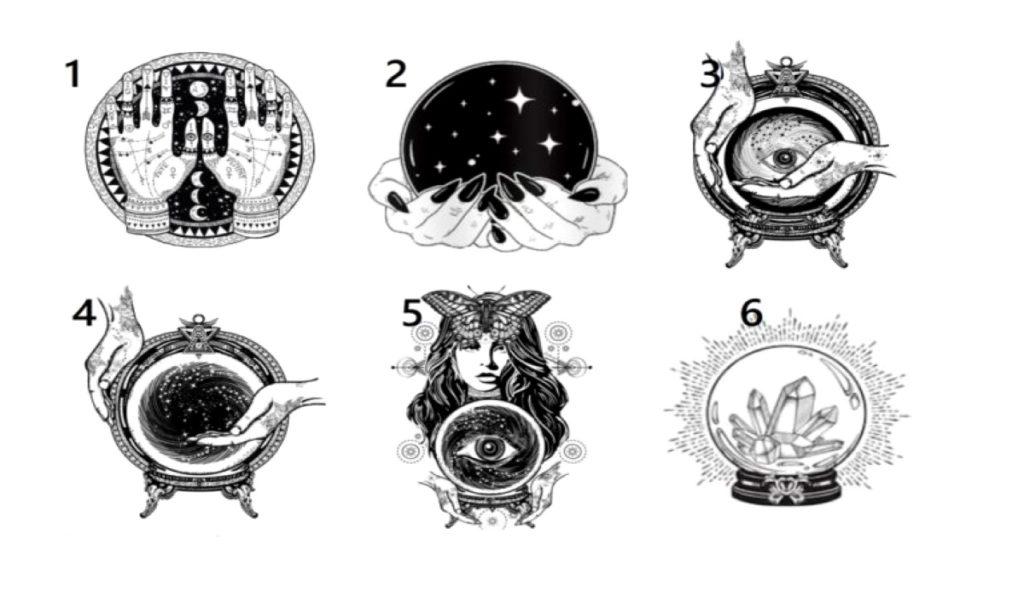 Выберите волшебную сферу и узнайте больше о своем будущем
